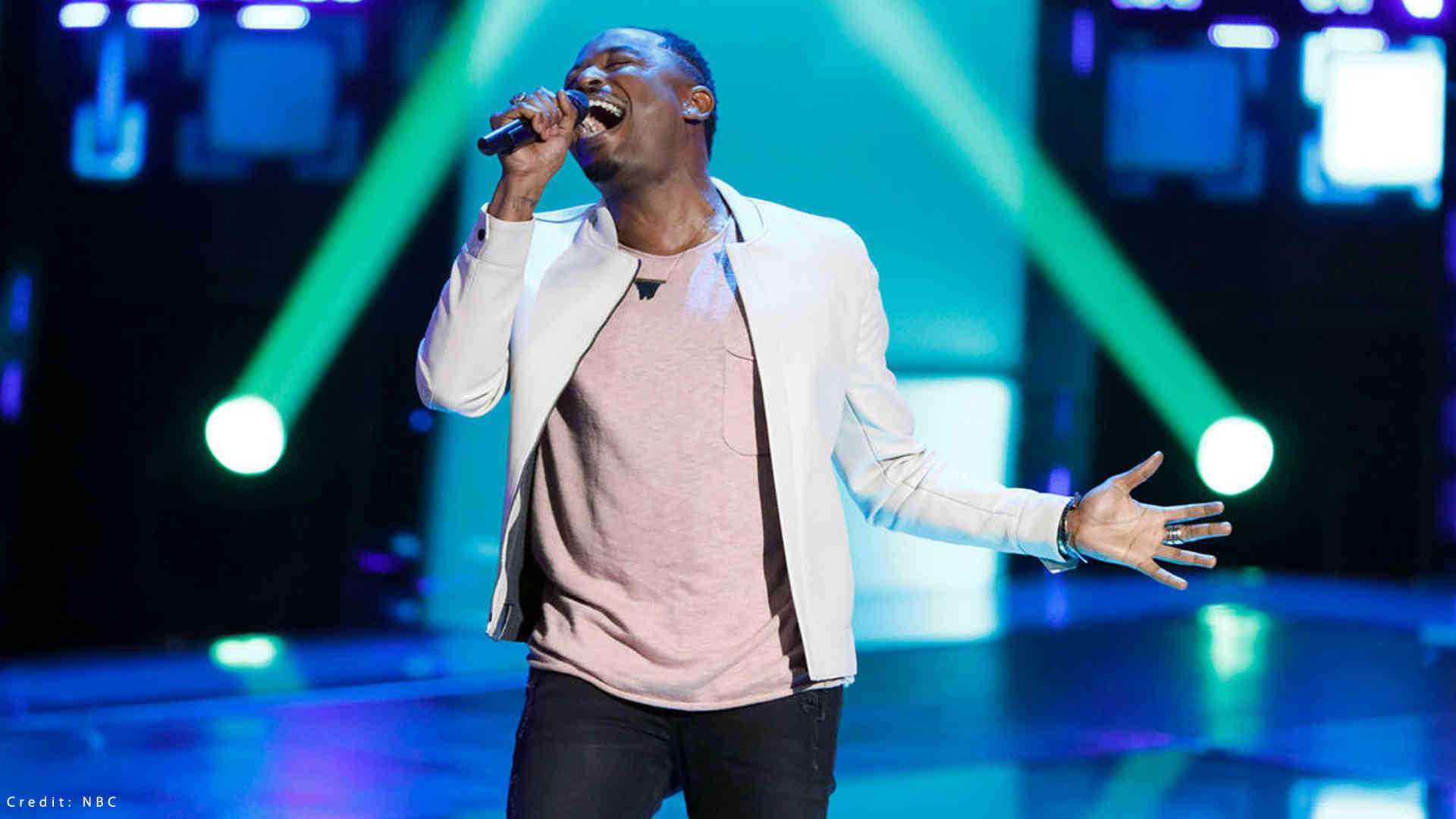 """Watch The Voice 2018 Blind Audition of Rayshun Lamarr """"Don't Stop Believin"""" in The Voice 2018 season 14 Blind Audition 26 February 2018"""