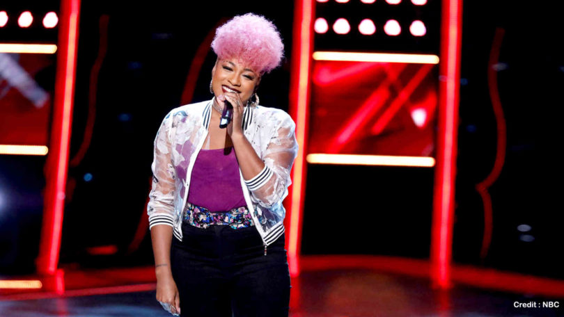 "Watch The Voice 2018 Miya Bass ""Issues"" Blind Audition Full Video on 12 March 2018"