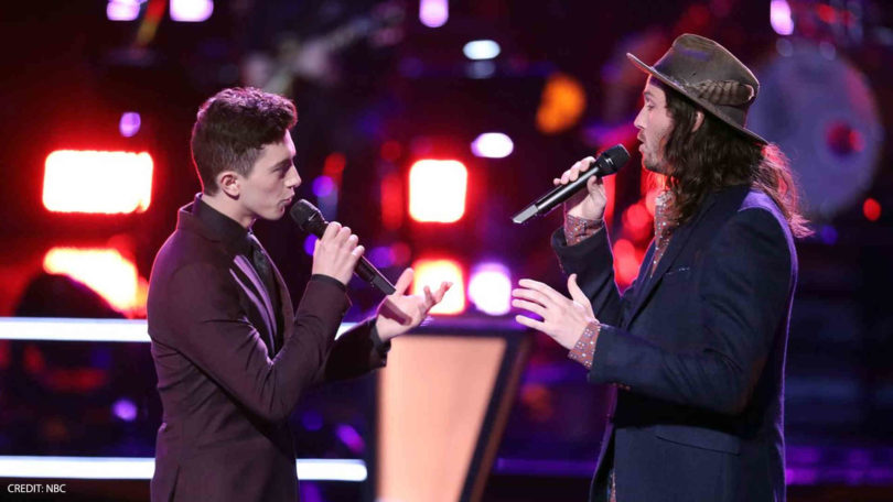 "Watch The Voice 2018 Battles Brett Hunter vs. Austin Giorgio ""Me and Mrs. Jones"" Full Video on 27 March 2018"