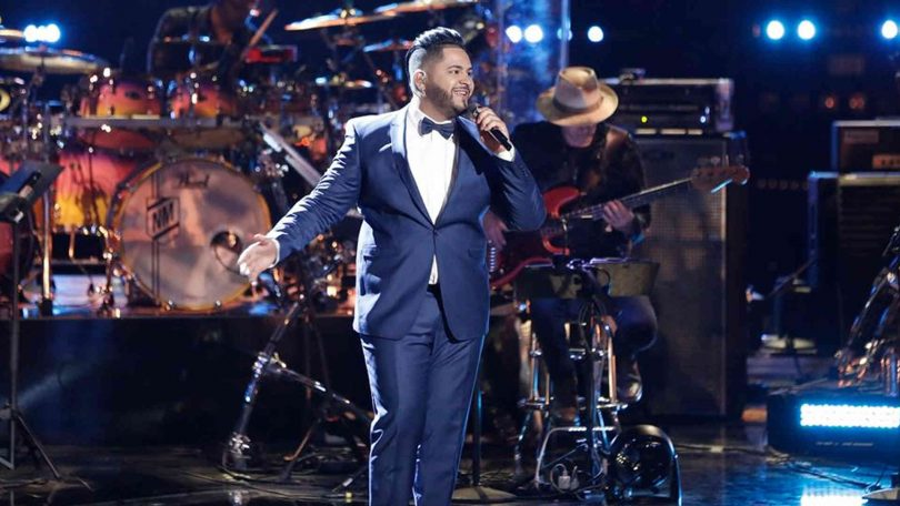 Vote JOHNNY BLISS The Voice 2018 Playoffs 16 April 2018 with The Voice 2018 Season 14 Voting App Online