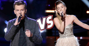 Watch The Voice USA 2018 Knockout Britton Buchanan vs Dallas Caroline full Performance Video 9 April 2018
