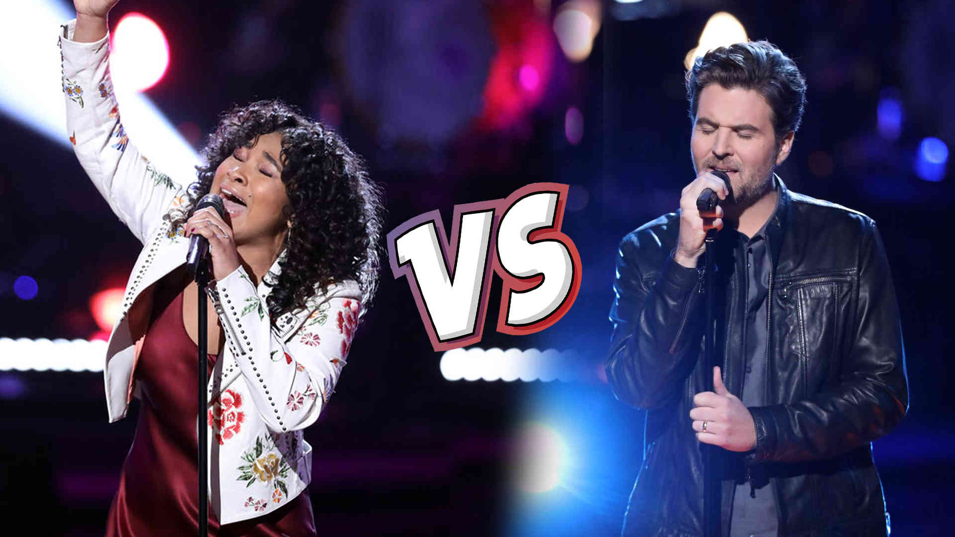 Watch The Voice USA 2018 Knockout Reid Umstattd vs Jordyn Simone full Performance Video 9 April 2018