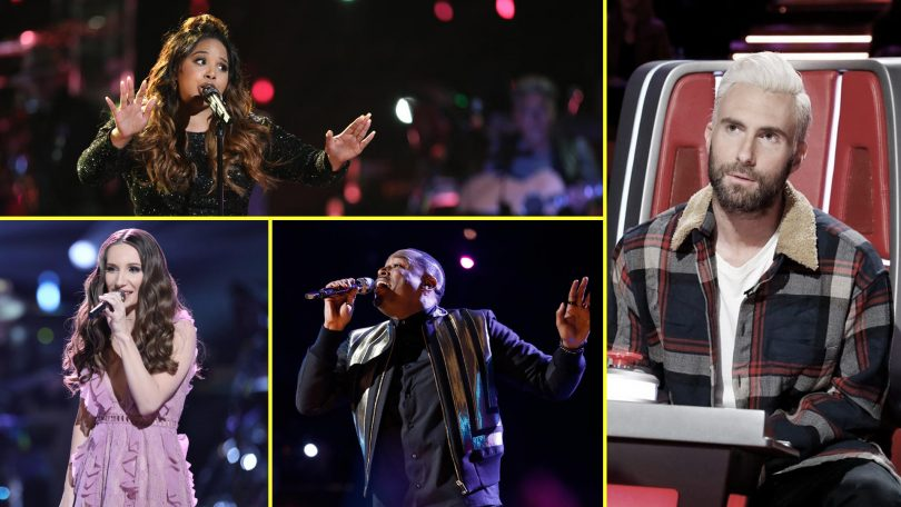The Voice 2018 Season 14 Team Adam Levine team Squad with Winner Prediction for Top 12 Contestants