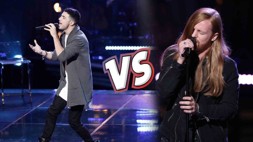 Watch The Voice USA 2018 Knockout WILKES vs Dylan Hartigan full Performance Video 9 April 2018