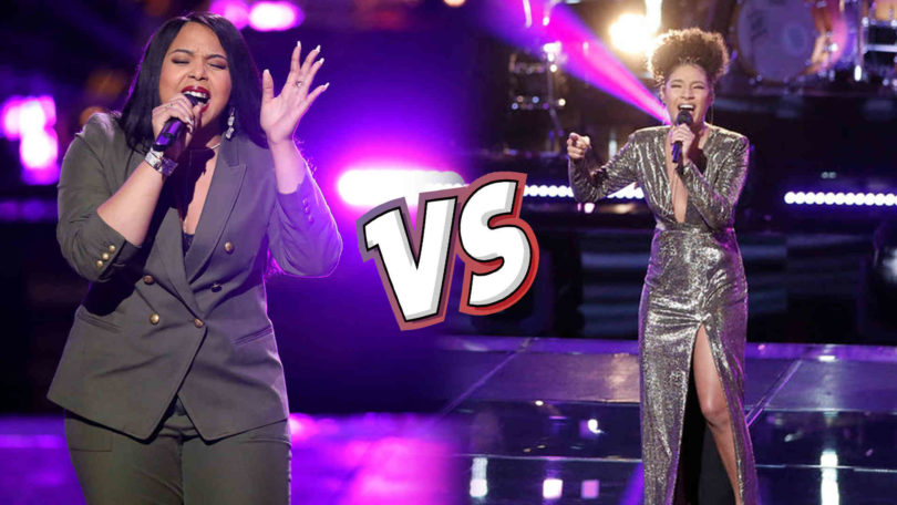 Watch The Voice USA 2018 Knockout Kelsea Johnson vs Sharane Callister full Performance Video 9 April 2018