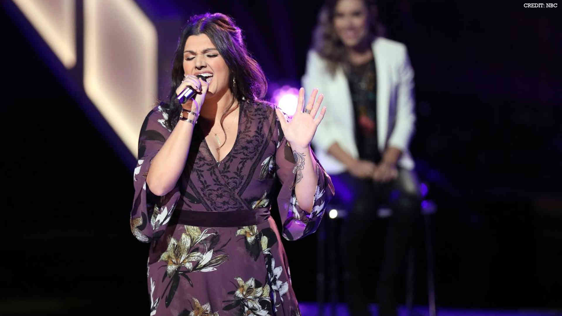 "Watch The Voice USA 2017 Knockout Mia Boostrom ""Wade in the Water"" full Performance Video 2 April 2018"