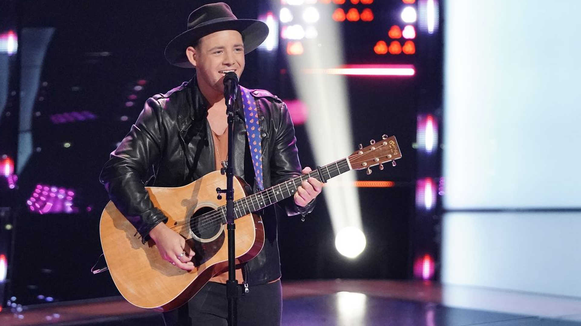 "Watch Kameron Marlowe ""One Number Away"" Blind Audition Performance in The Voice USA 2018 season 15 Blind Audition 24 September 2018"