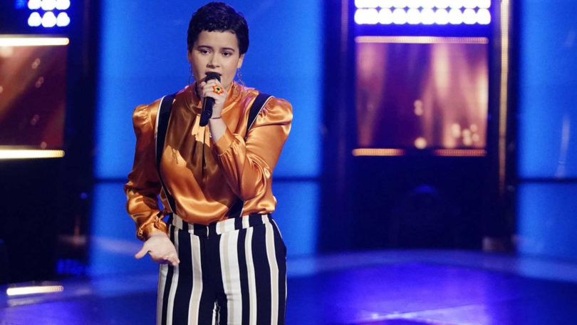"Watch Mercedes Ferreira-Dias ""She Used to Be Mine"" Blind Audition Performance in The Voice USA 2018 season 15 Blind Audition 24 September 2018"