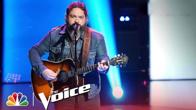 Vote Dave Fenley The Voice 2018 Live Top 13 on 19 November 2018 with The Voice 2018 Voting App Online
