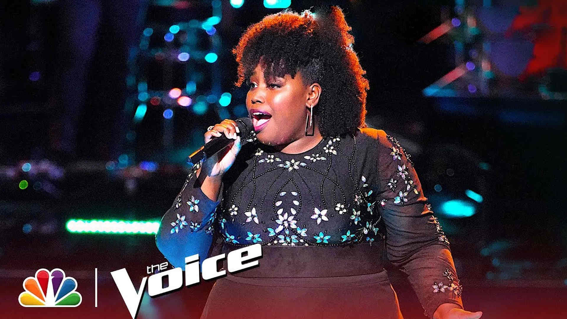 Vote Kymberli Joye The Voice 2018 Live Top 13 on 19 November 2018 with The Voice 2018 Voting App Online