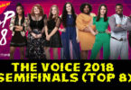 Watch The Voice USA 2018 Top 8 (Semifinals) Full Episode on 10 December 2018 With Voting App tonight