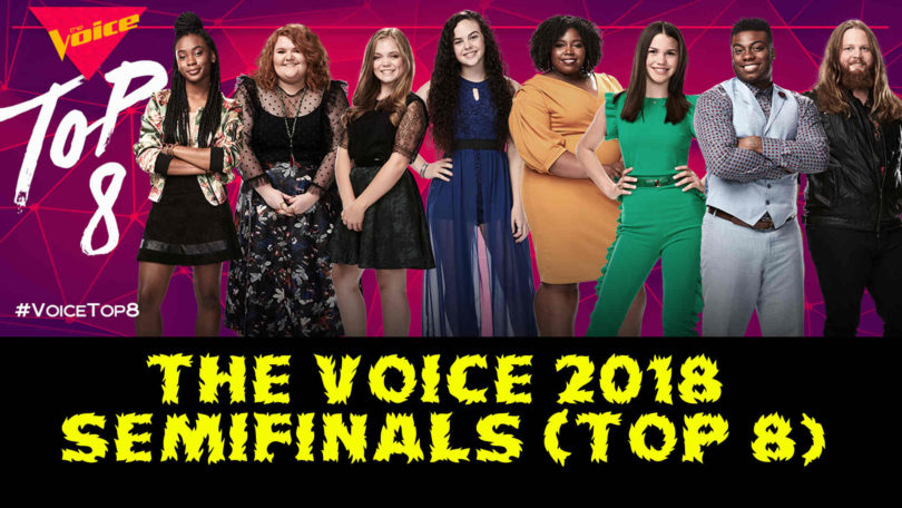 Watch The Voice USA 2018 Top 8 (Semifinals) Full Episode on