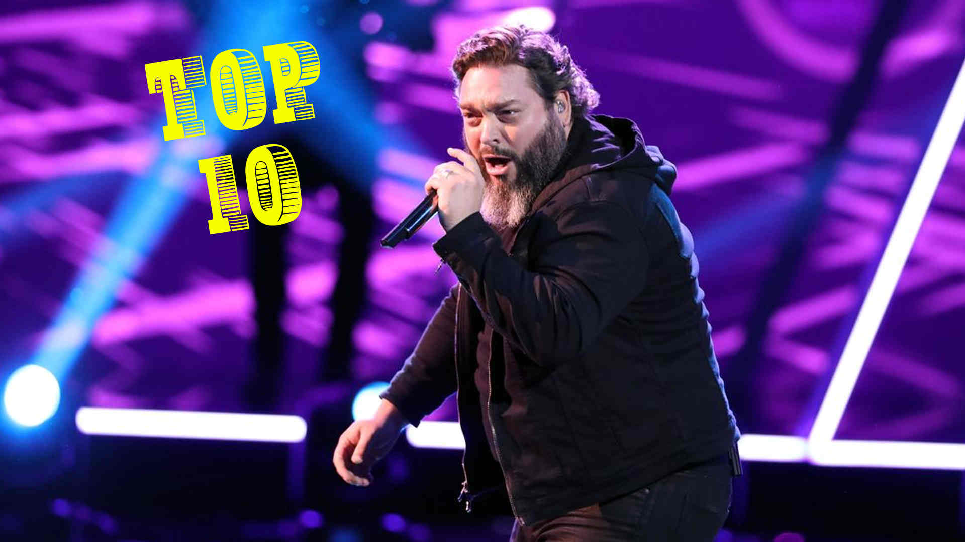 Vote Dave Fenley the Voice 2018 Live Top 10 on 3 December 2018 with The Voice 2018 Voting App Online