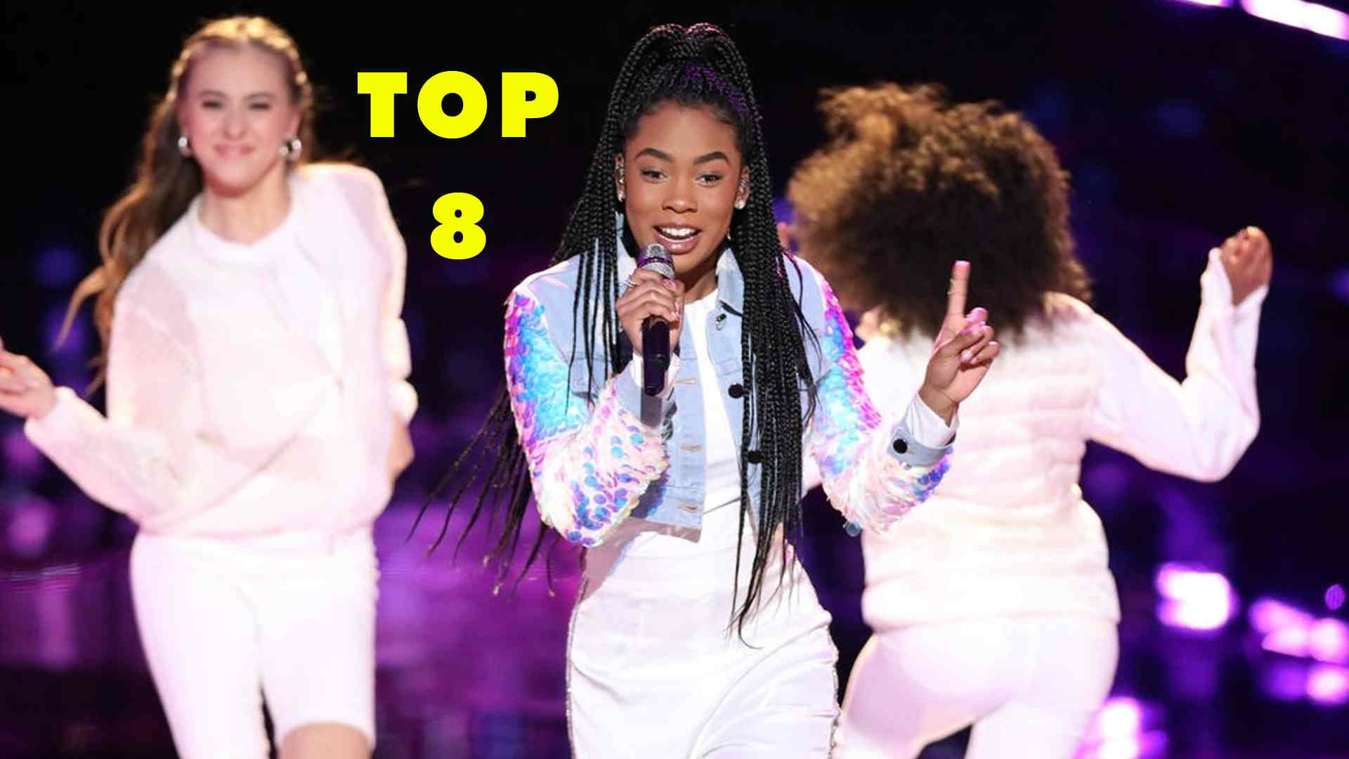 Vote Kennedy Holmes the Voice 2018 Live Top 8 (Semifinals) on 10 December 2018 with the Voice 2018 Voting App Online