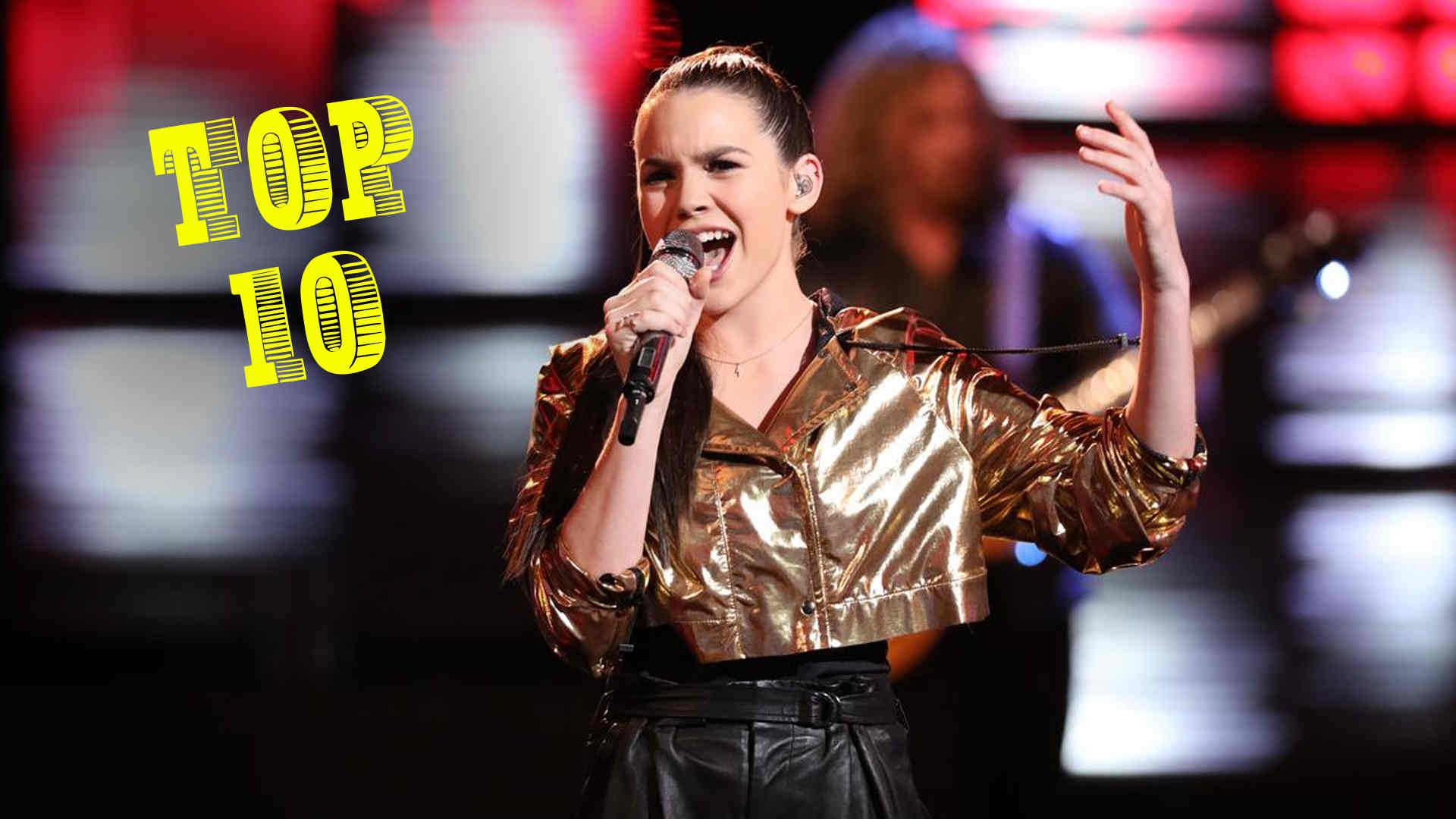 Vote Reagan Strange the Voice 2018 Live Top 10 on 3 December 2018 with The Voice 2018 Voting App Online