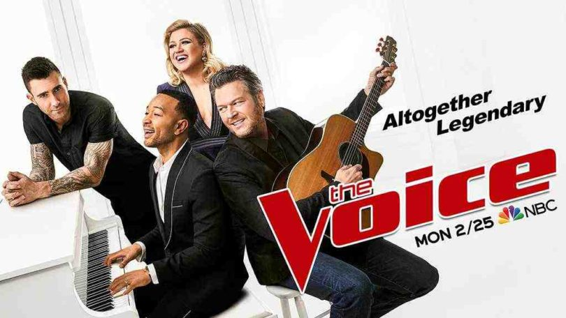 The Voice 2019 Season 16 First Look with the Voice Season 16 Coaches, Contestant and Host Name