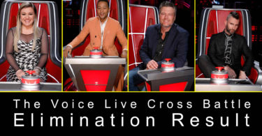 Watch The Voice 2019 Season 16 Cross Battle Elimination Result 15 April 2019 with Cross Battles Voting Result