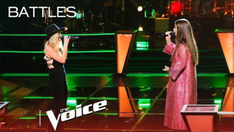 "Watch Celia Babini and Karly Moreno's ""Friends"" in The Voice Battles 2019 Season 16"