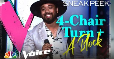 Nelson Cade III The Voice USA 2020 Blind Audition