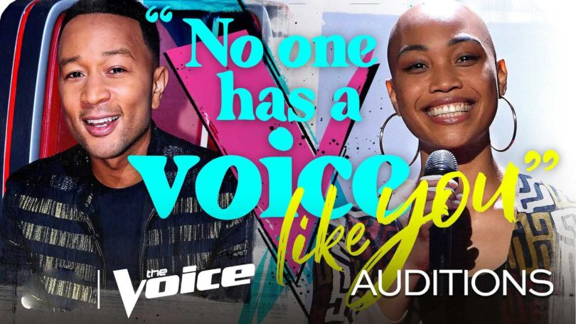 Cedrice The Voice 2020 S18 Blind Audition