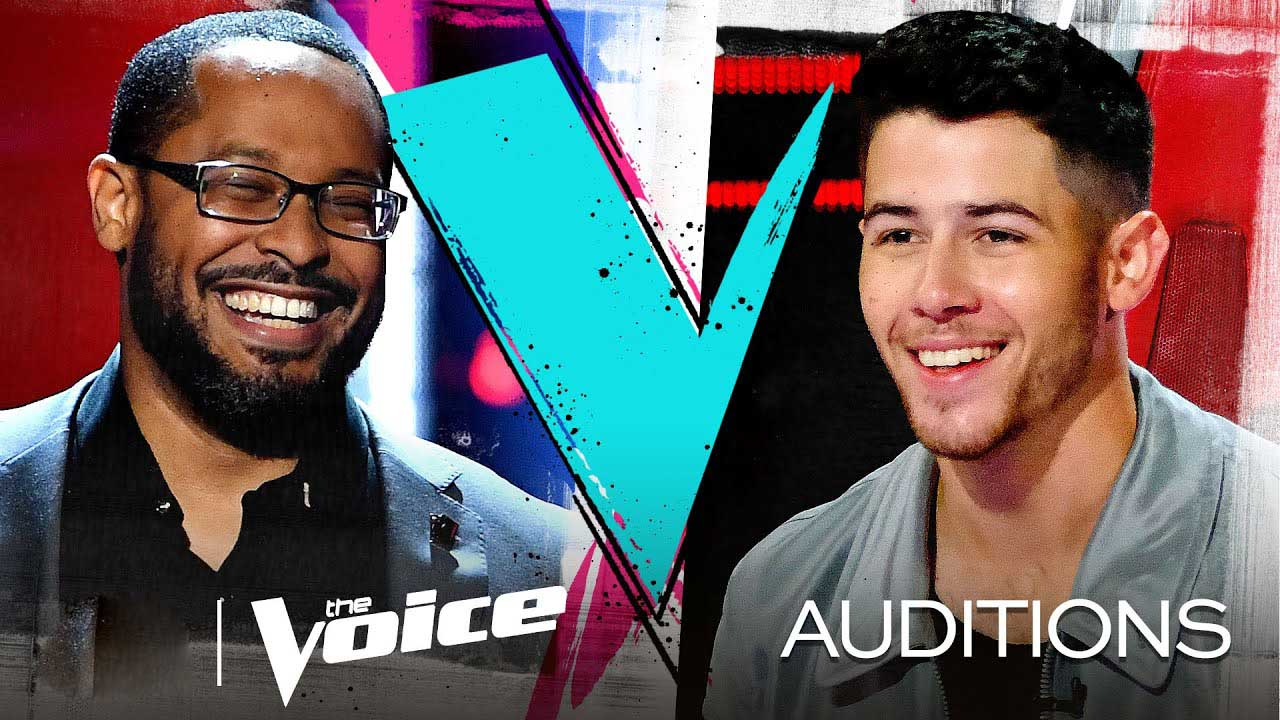 Roderick Chambers The Voice USA 2020 Blind Audition
