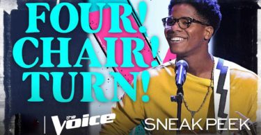 Thunderstorm Artis The Voice USA 2020 Blind Audition