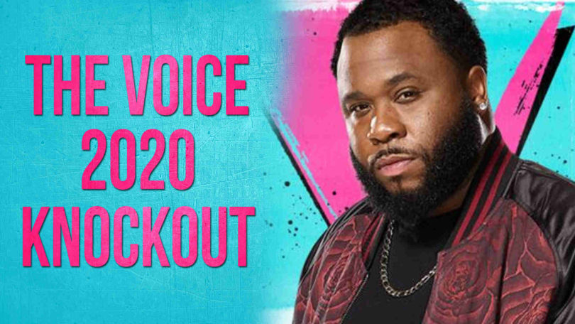 Vote Darious Lyles The Voice USA 2020 Knockout Performance Tonight on 13 April 2020