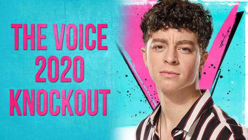 Vote Tate Brusa The Voice USA 2020 Knockout Performance Tonight on 13 April 2020