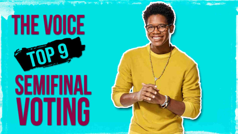 Vote Thunderstorm Artis The Voice 2020 Semifinals Voting Tonight on 11 May 2020