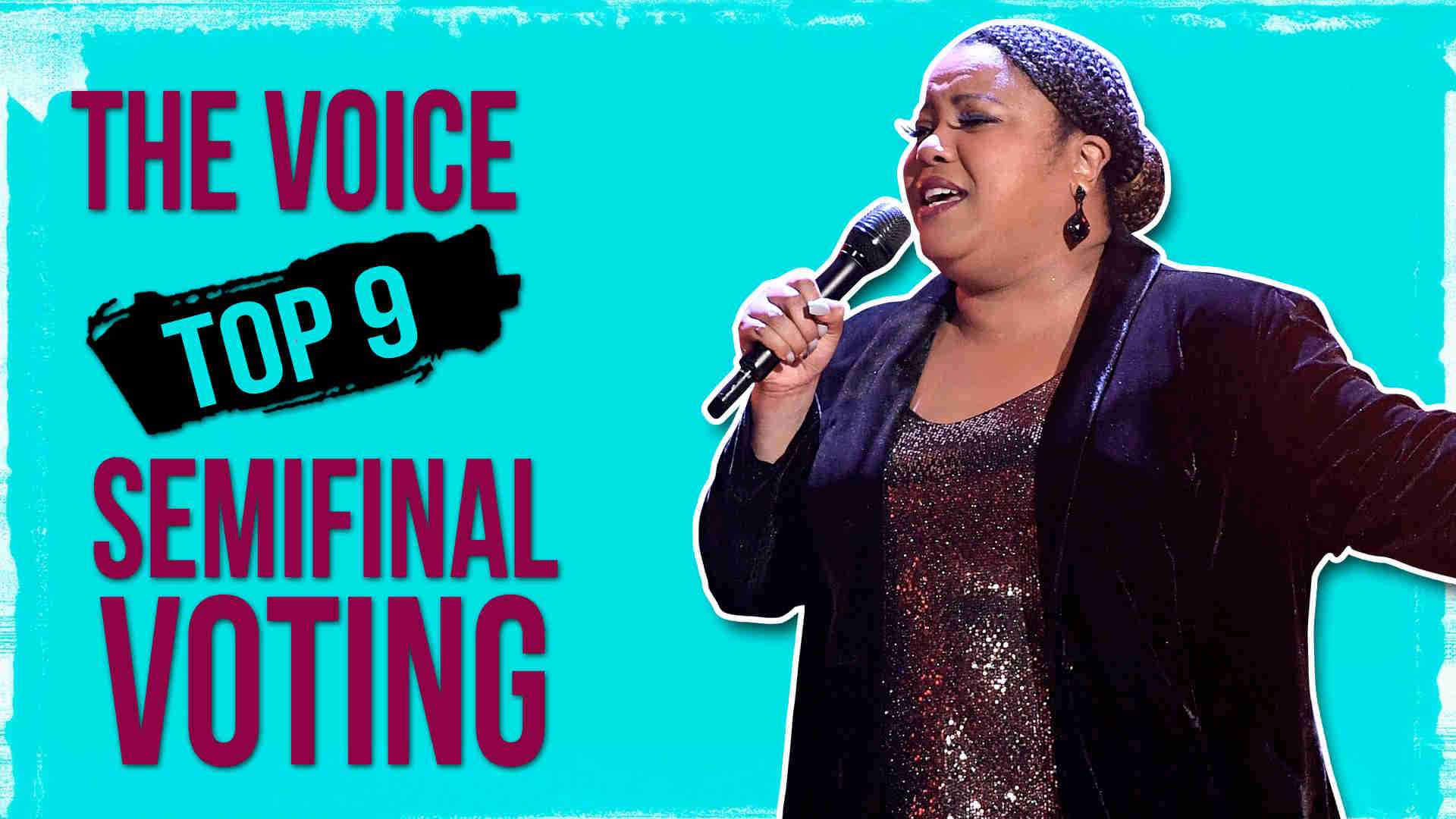 Vote Toneisha Harris The Voice 2020 Semifinals Voting Tonight on 11 May 2020