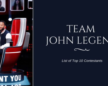 Team John Legend