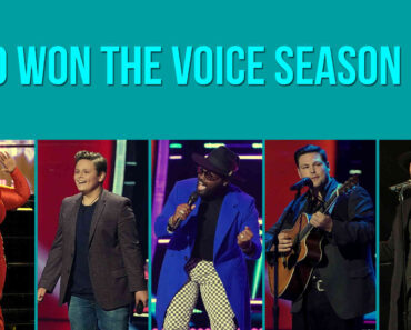 The Voice Finale Winner Name
